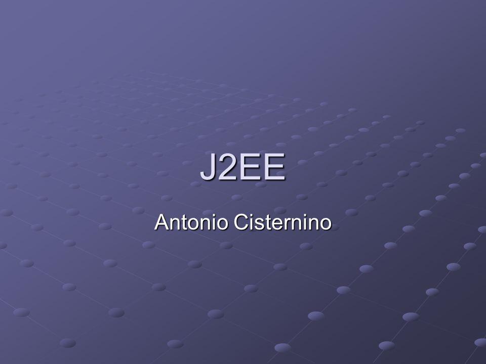 J2EE Antonio Cisternino