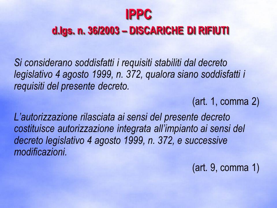 IPPC d.lgs. n.