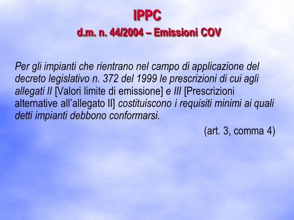 IPPC d.m. n.