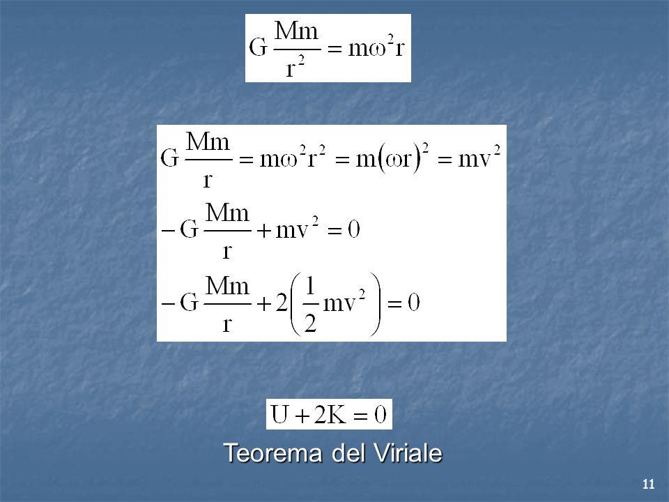 11 Teorema del Viriale