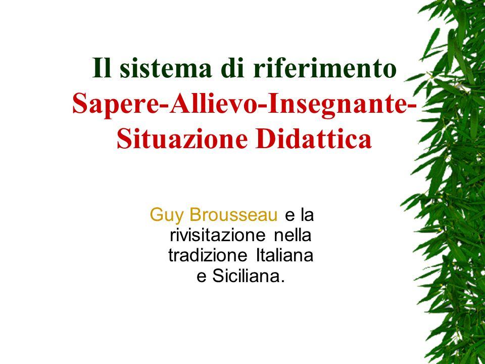 La Ricerca in Didattica delle Matematiche  Filippo Spagnolo G.R.I.M.