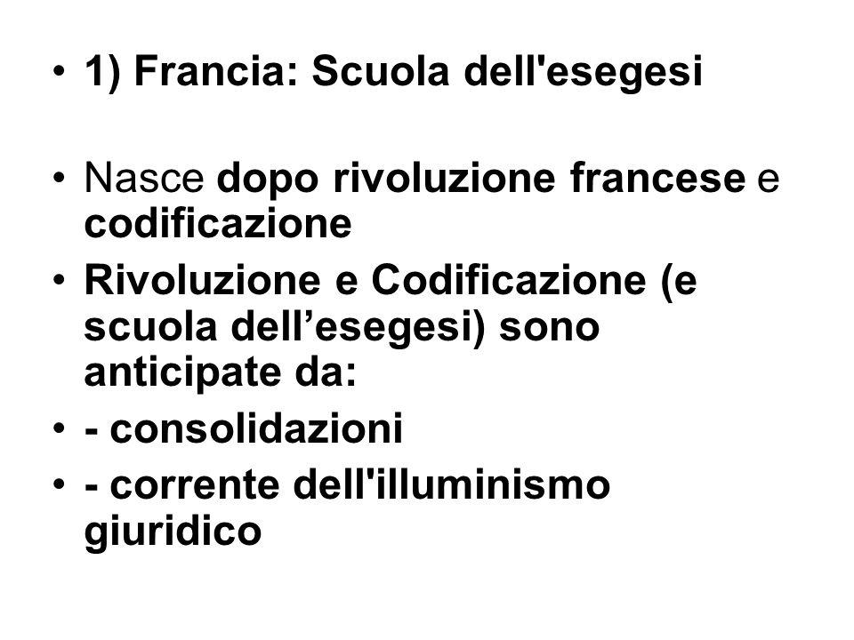 - Consolidazioni del diritto comune (XVII-XVIII sec.) Provvedimenti diretti ad una risistemazione razionale ed organica delle fonti esistenti
