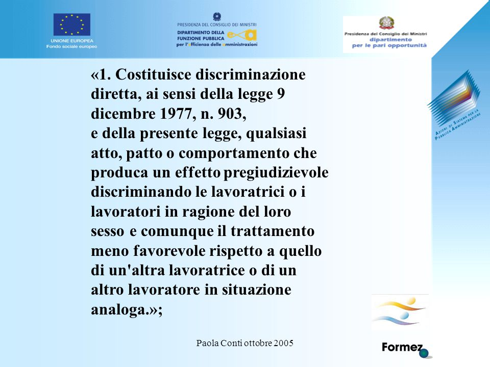 Paola Conti ottobre 2005 «1.