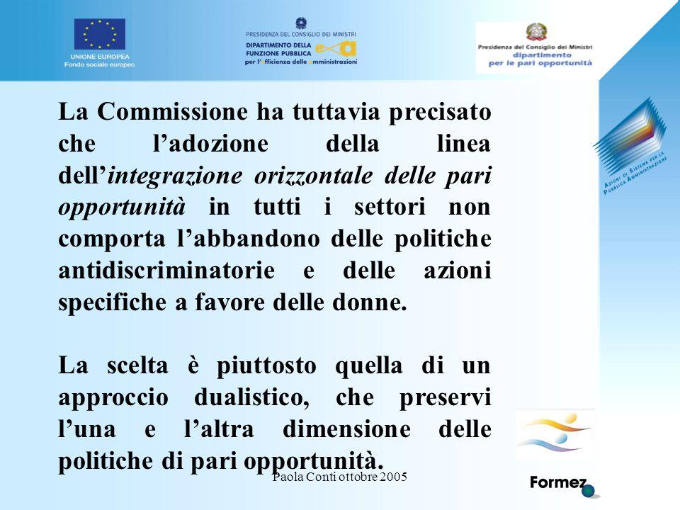 Paola Conti ottobre 2005 LAVORO/1.CNEL: IL 6% DI DONNE LICENZIATE PERCHE' INCINTE.