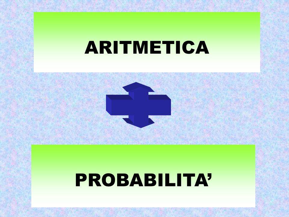 ARITMETICA PROBABILITA'