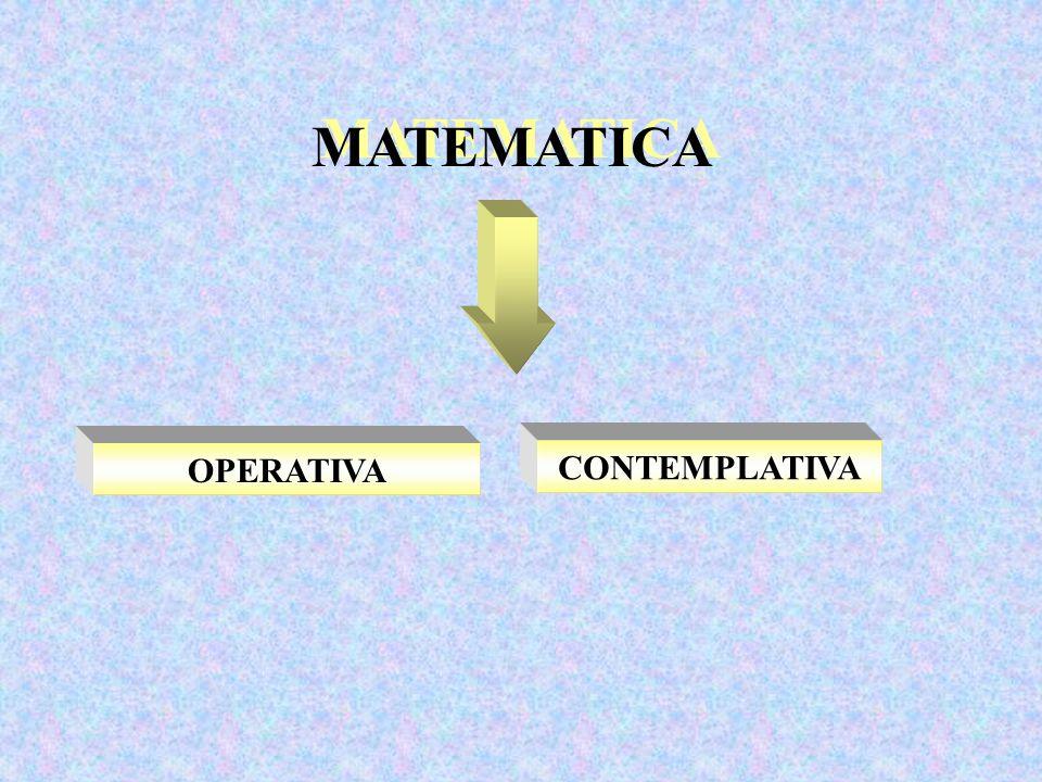 MATEMATICA OPERATIVA CONTEMPLATIVA