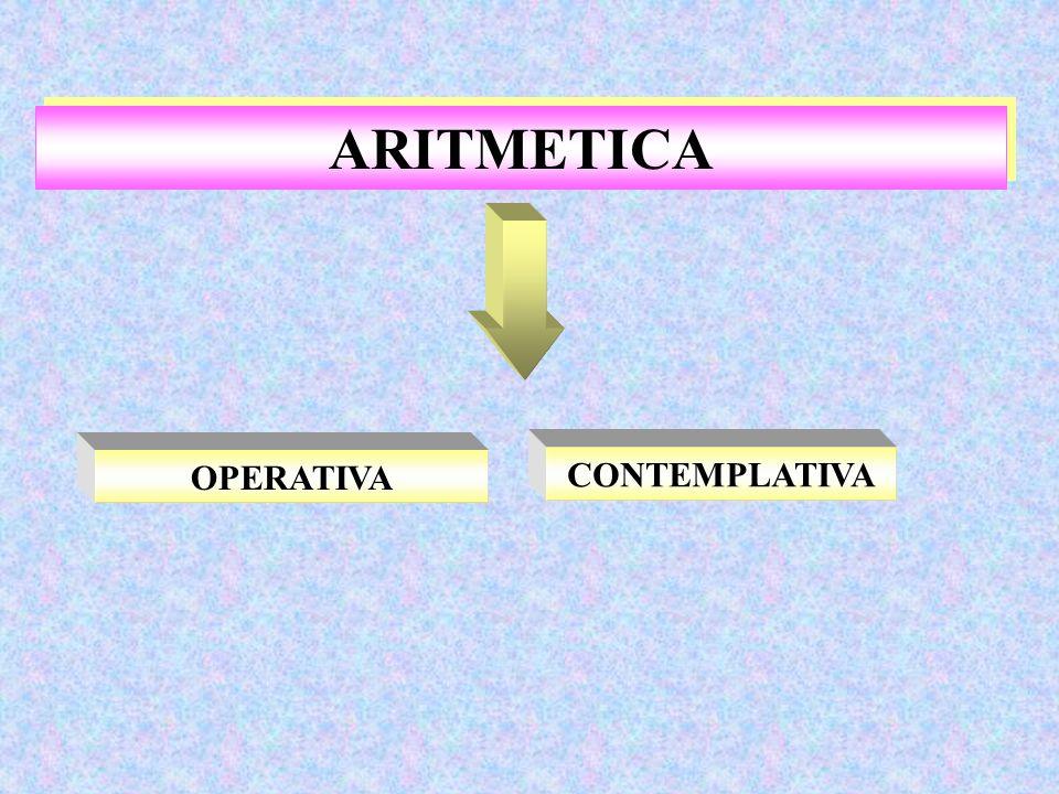 ARITMETICA OPERATIVA CONTEMPLATIVA