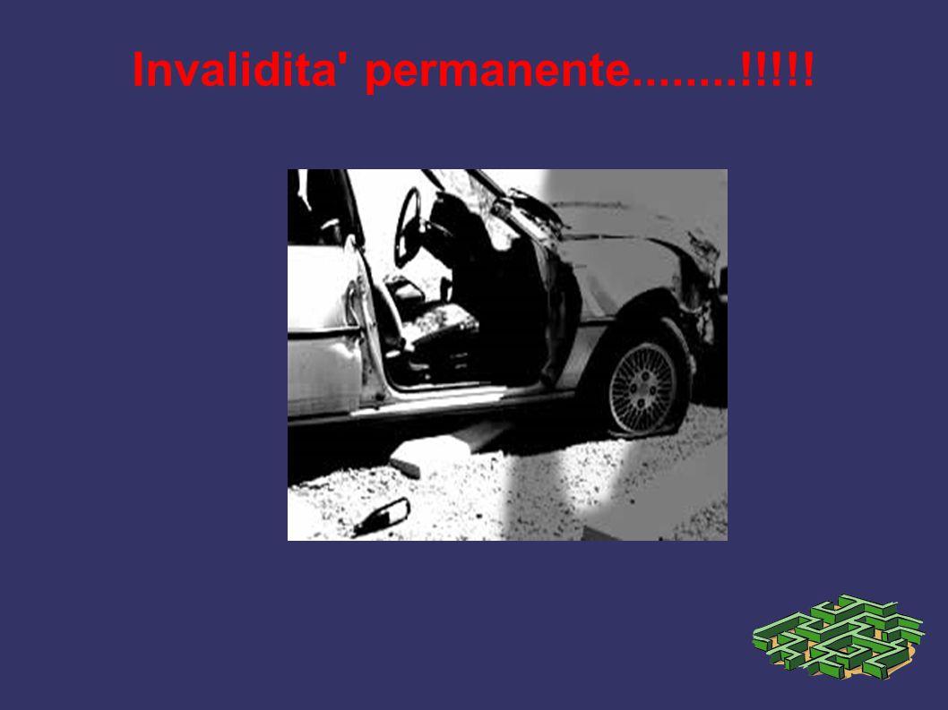 Invalidita' permanente........!!!!!