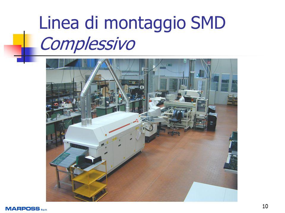 10 Linea di montaggio SMD Complessivo