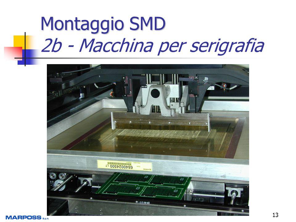 13 Montaggio SMD Montaggio SMD 2b - Macchina per serigrafia