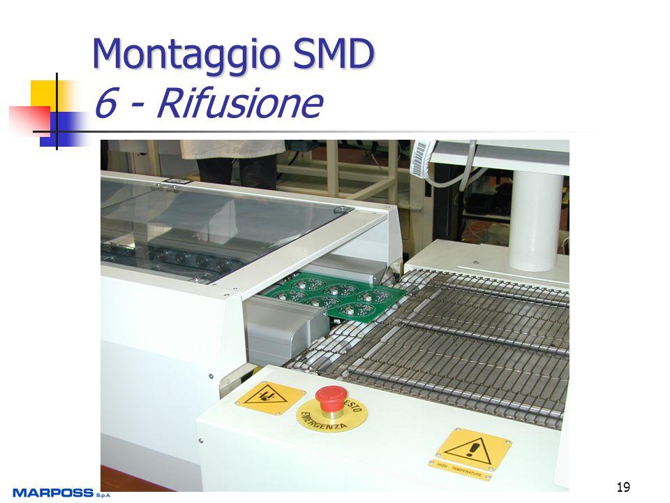19 Montaggio SMD Montaggio SMD 6 - Rifusione