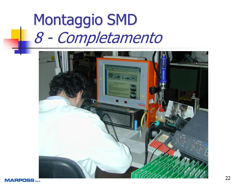 22 Montaggio SMD Montaggio SMD 8 - Completamento