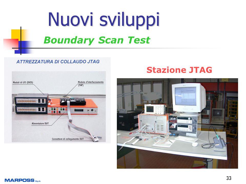 33 Nuovi sviluppi Boundary Scan Test Stazione JTAG