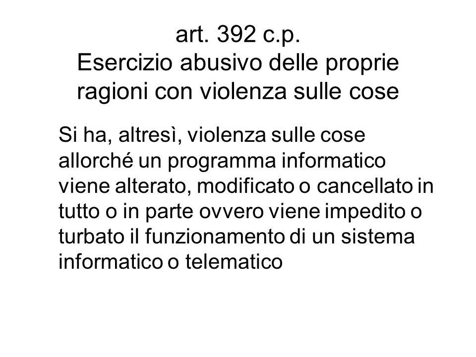 art. 392 c.p.
