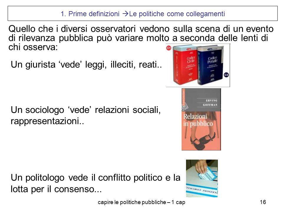 capire le politiche pubbliche – 1 cap16 1.