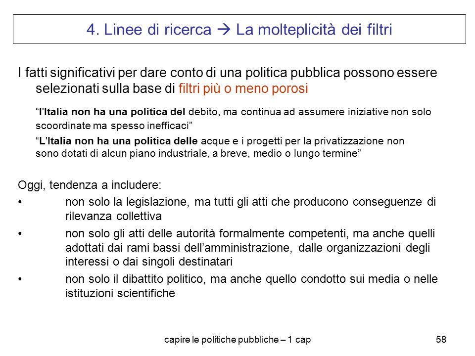 capire le politiche pubbliche – 1 cap58 4.