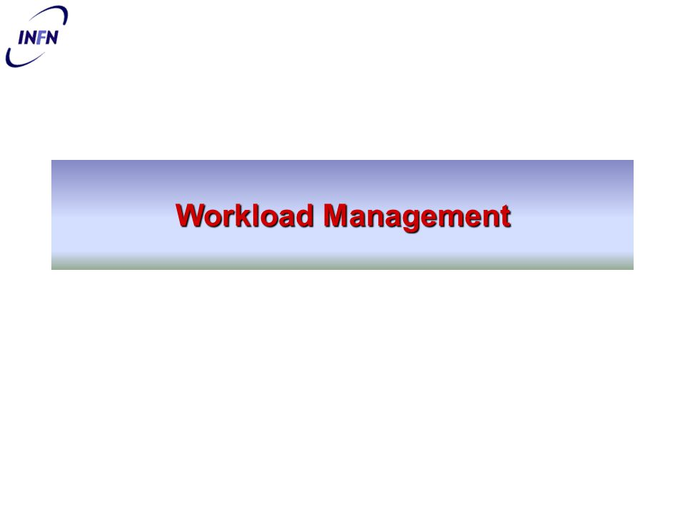 Workload Management