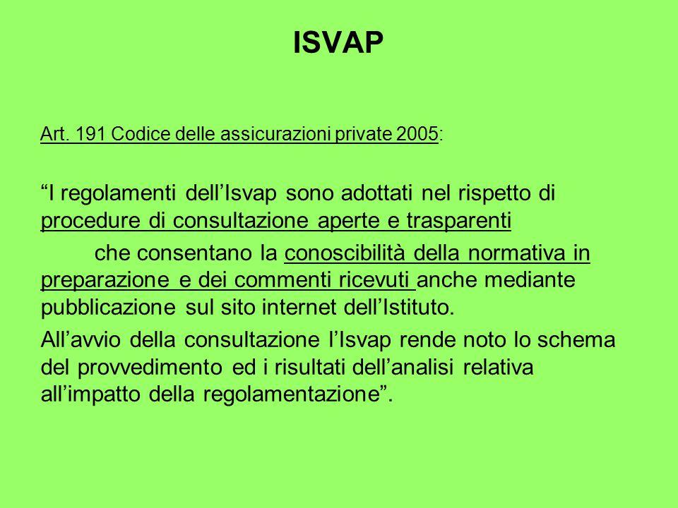ISVAP Art.