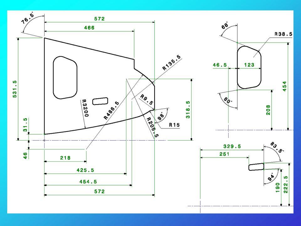Aprire il file : esercizio_superfici_1_fase_01.CATPart In questo file sono contenute le superfici velivolo che si utilizzeranno per la costruzione dell'elemento.