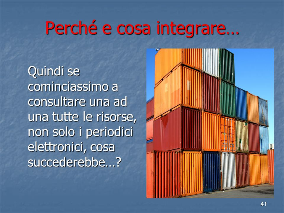 40 http://ww w.bibliotec he.unibo.it /portale/ri sorse- elettronich e/periodici