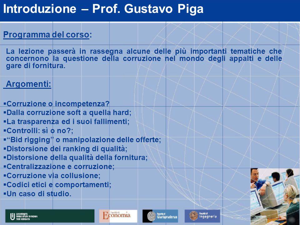 Introduzione – Prof.