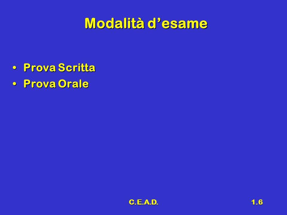 C.E.A.D.1.17 Potenza in un circuito elettrico Potenza istantaneaPotenza istantanea Potenza mediaPotenza media