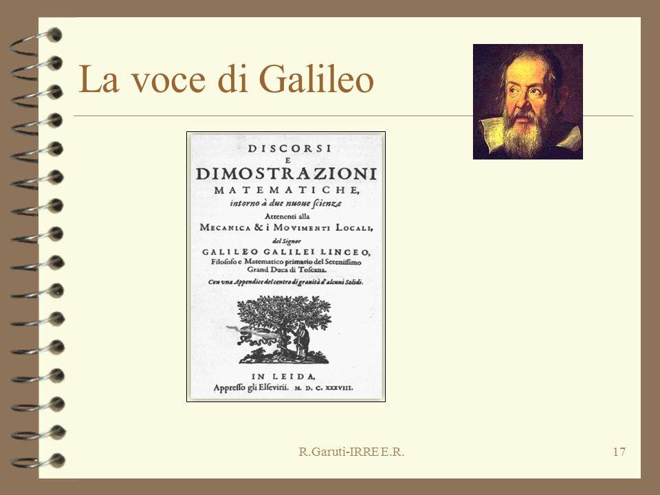 R.Garuti-IRRE E.R.17 La voce di Galileo