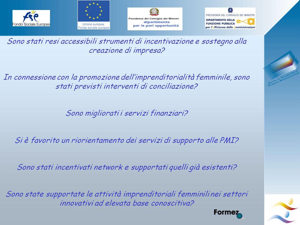 Elena Murtas -Campobasso- Sono stati resi accessibili strumenti di incentivazione e sostegno alla creazione di impresa.