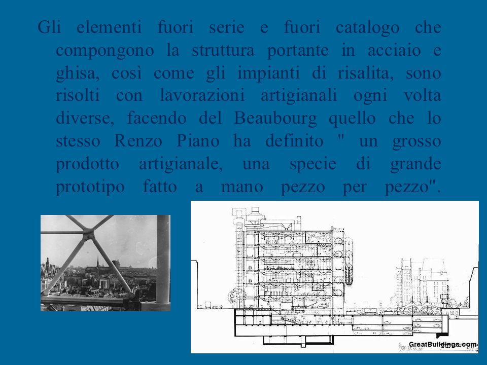 Dotato di una grande flessibilità d'impiego, derivata proprio dall'applicazione della pianta libera, l'edificio si contrappone ad ogni logica di ricuc
