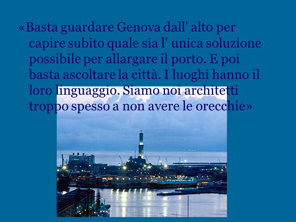 « Ho l' impressione sempre più spesso, quando torno in Italia, che siamo diventati un paese prigioniero delle paure. E la prima è quella del futuro. D