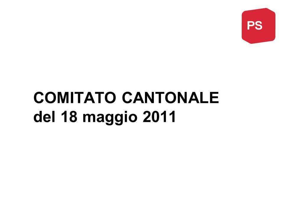 COMITATO CANTONALE del 18 maggio 2011