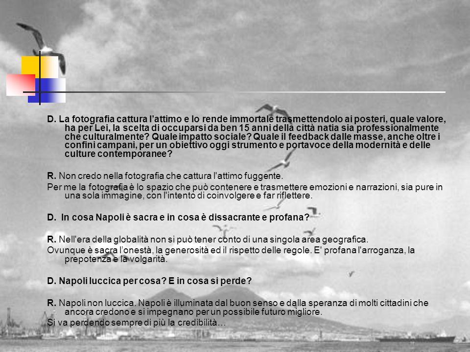 Mimmo Jodice e Napoli INTERVISTA A MIMMO JODICE LA NAPOLI CHE LUCCICA E LA NAPOLI PERDUTA D.