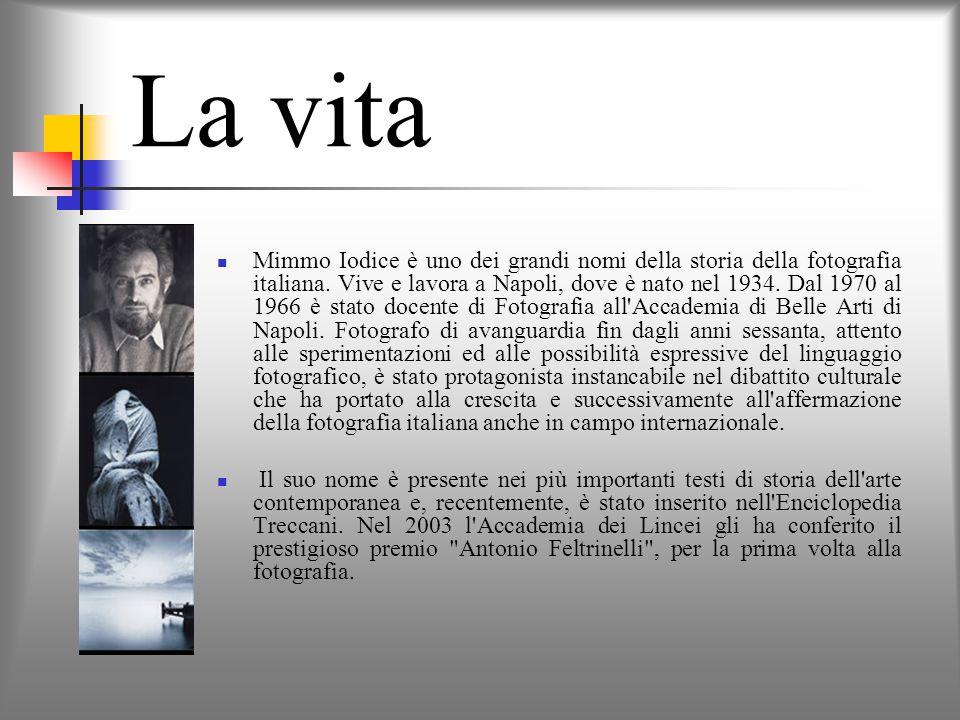 La vita Mimmo Iodice è uno dei grandi nomi della storia della fotografia italiana.