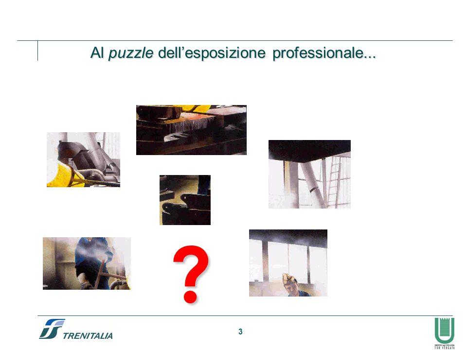 3 ? Al puzzle dell'esposizione professionale...