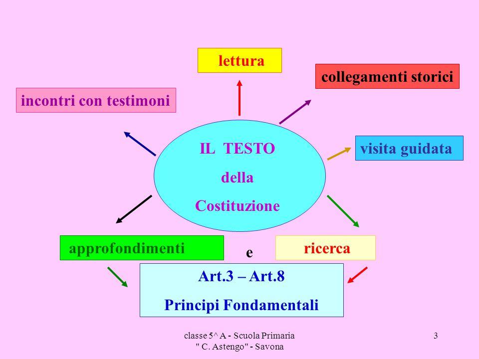 classe 5^ A - Scuola Primaria C.