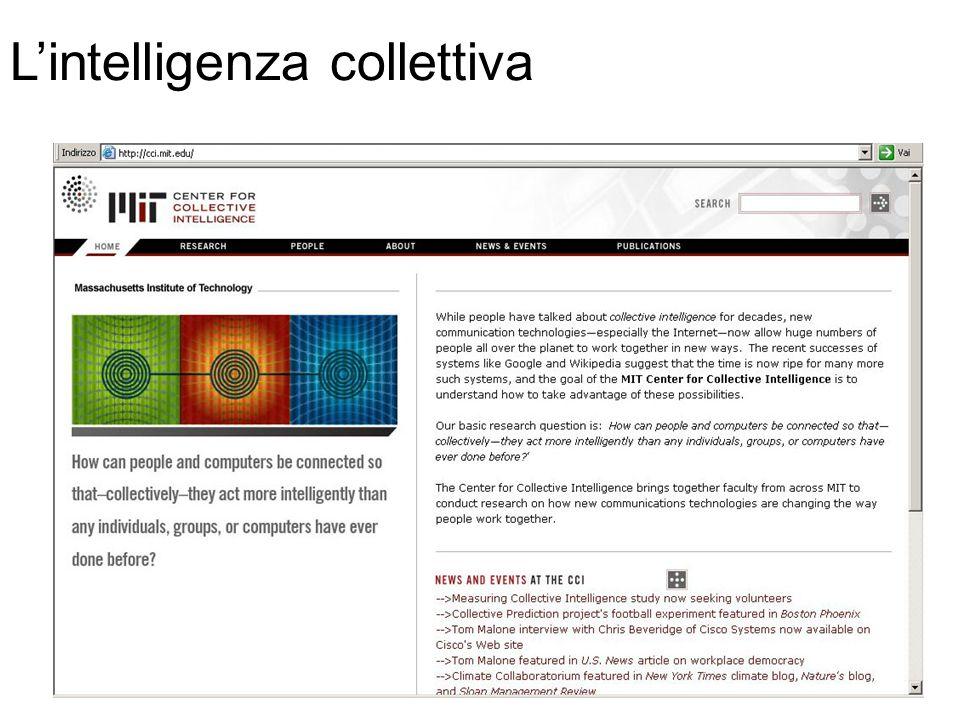 L'intelligenza collettiva