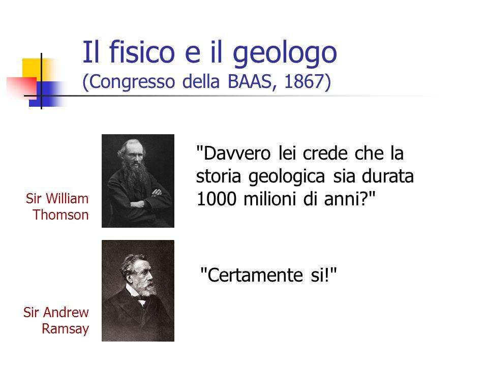Il fisico e il geologo (Congresso della BAAS, 1867)