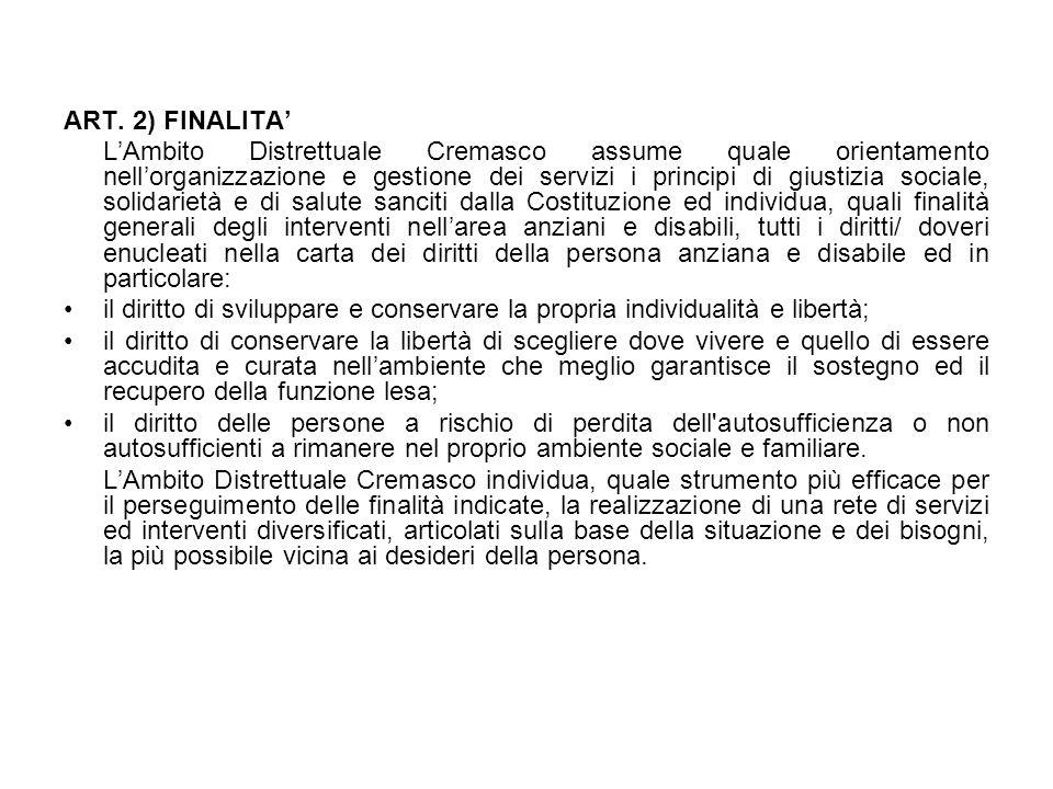 8.5 MODALITA' DI EROGAZIONE DELLE PRESTAZIONI Le prestazioni del s.a.d.