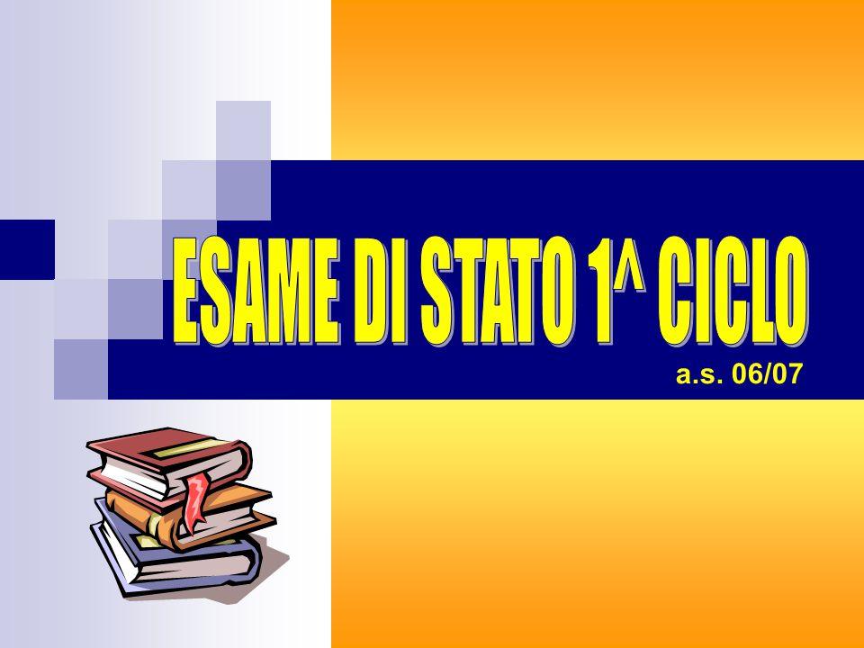 NORMATIVA D.M.26/08/81 (colloquio pluridisciplinare) D.