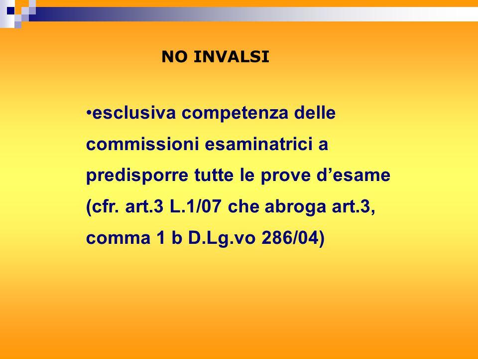 A) - ATTIVITA' PRELIMINARI ALL'ESAME DI STATO 1.