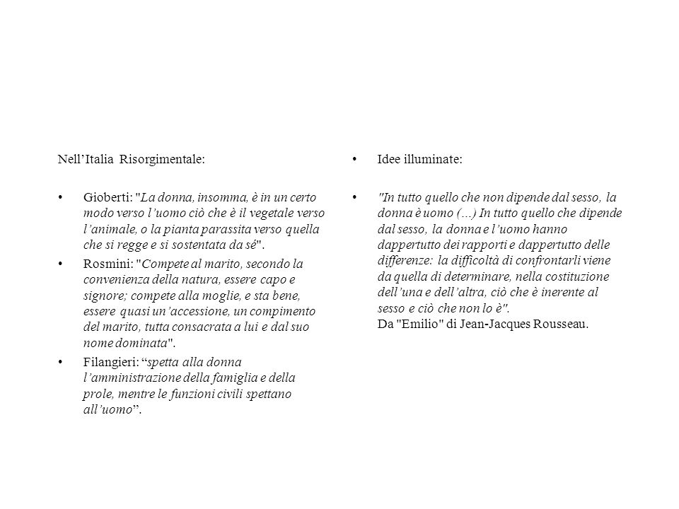 Nell'Italia Risorgimentale: Gioberti: