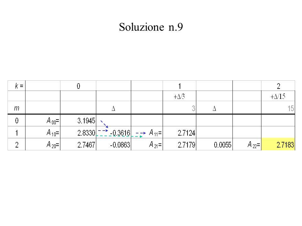 Soluzione n.9