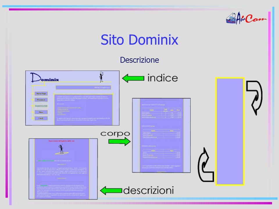 Sito Dominix Descrizione