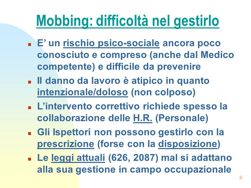 7 SINDROME DI BURNOUT Helping professions - Managers - Tutti.