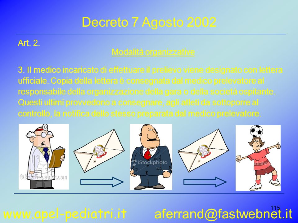 www.apel-pediatri.it aferrand@fastwebnet.it 115 Art.