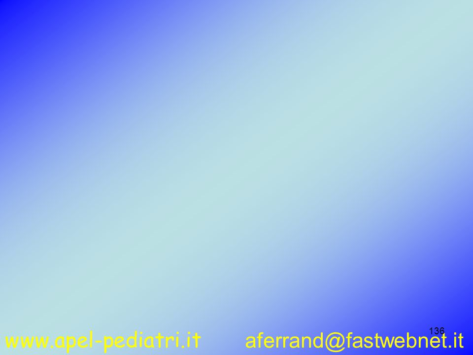 www.apel-pediatri.it aferrand@fastwebnet.it 136