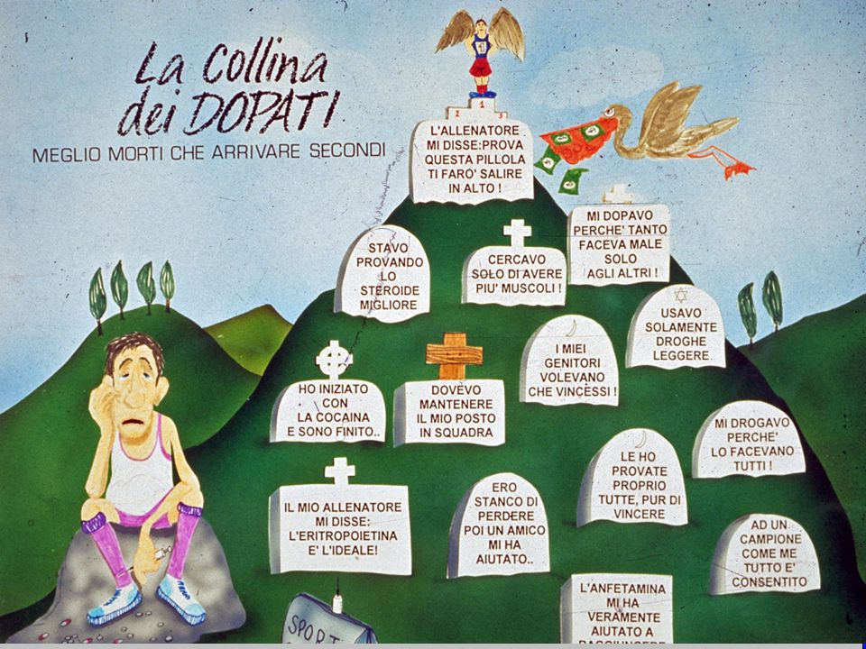 www.apel-pediatri.it aferrand@fastwebnet.it 37 2) Cosa è il doping ?