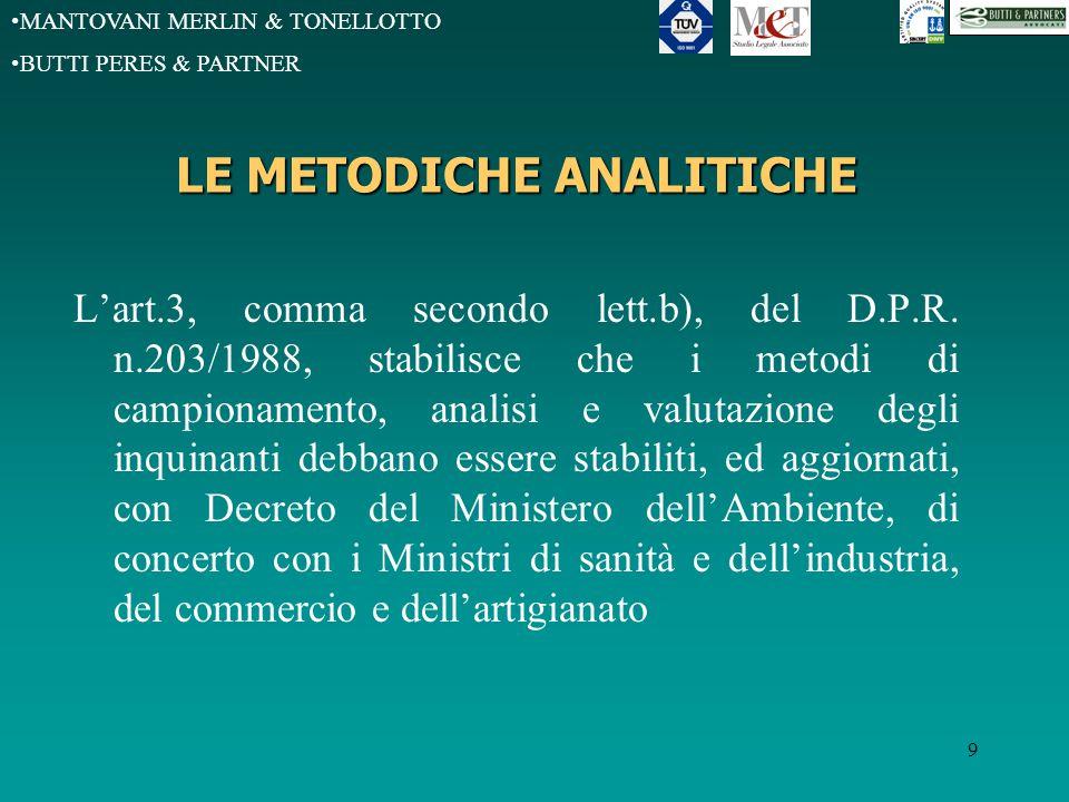 MANTOVANI MERLIN & TONELLOTTO BUTTI PERES & PARTNER D.M.