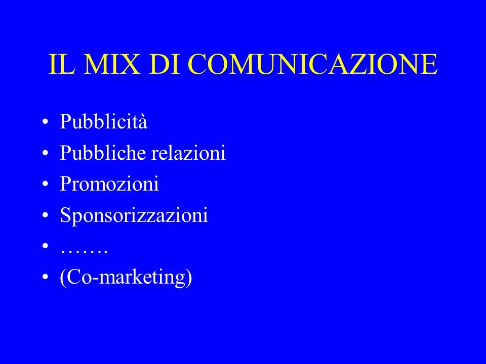 I MEZZI DI COMUNICAZIONE Come raggiungere i segmenti obiettivo.