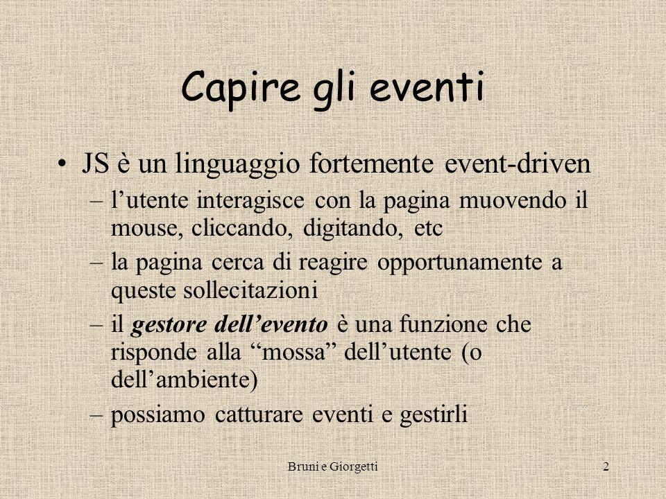 Gestire Gli Eventi Roberto Bruni e Daniela Giorgetti